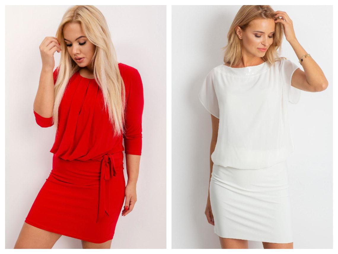 Eleganckie stylizacje plus size z sukienką